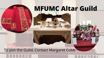 MFUMC Altar Guild
