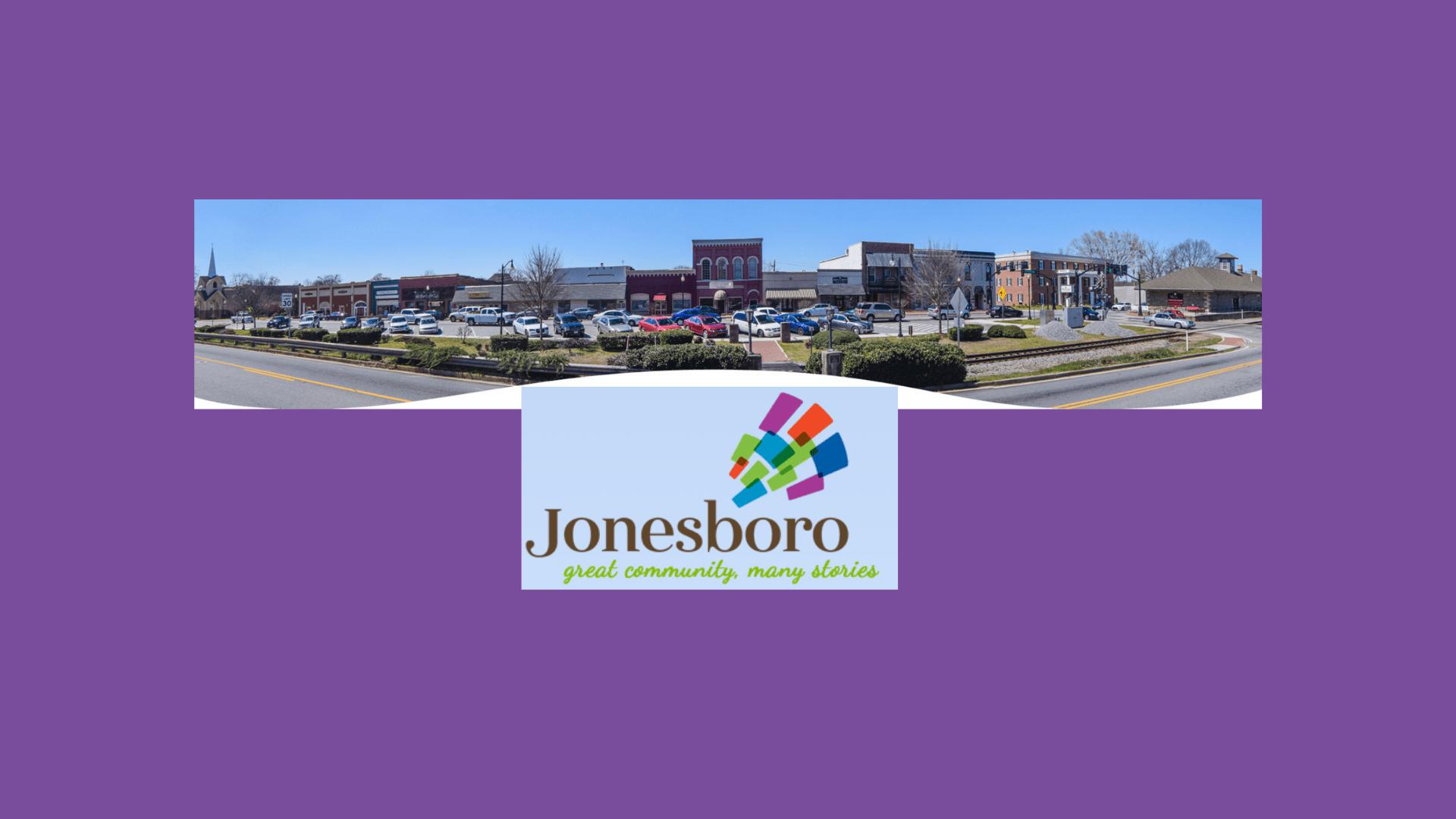 main street view of Jonesboro, GA