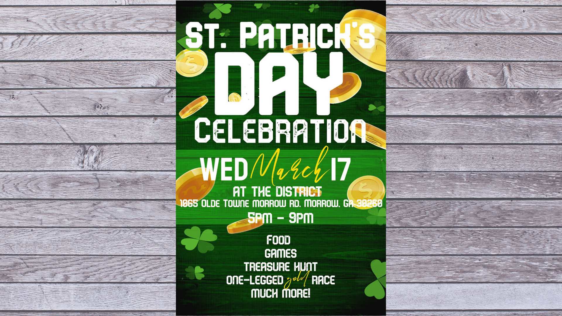 Celebrate St. Patty's Day in Olde Towne