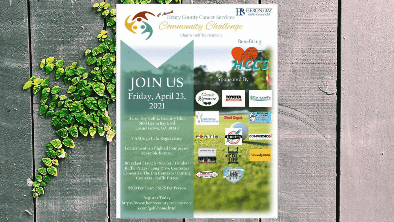Henry Cancer Service Golf Fundraiser