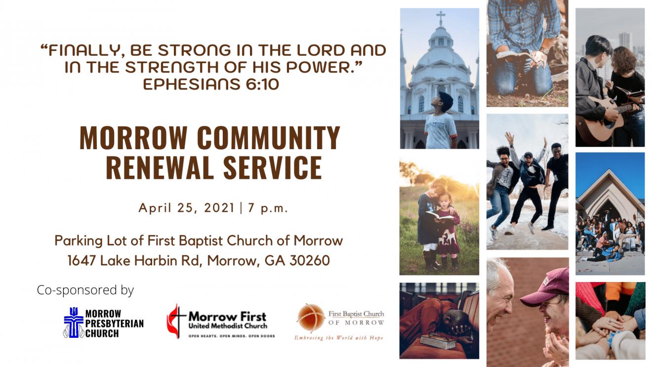 Morrow Community Renewal Service
