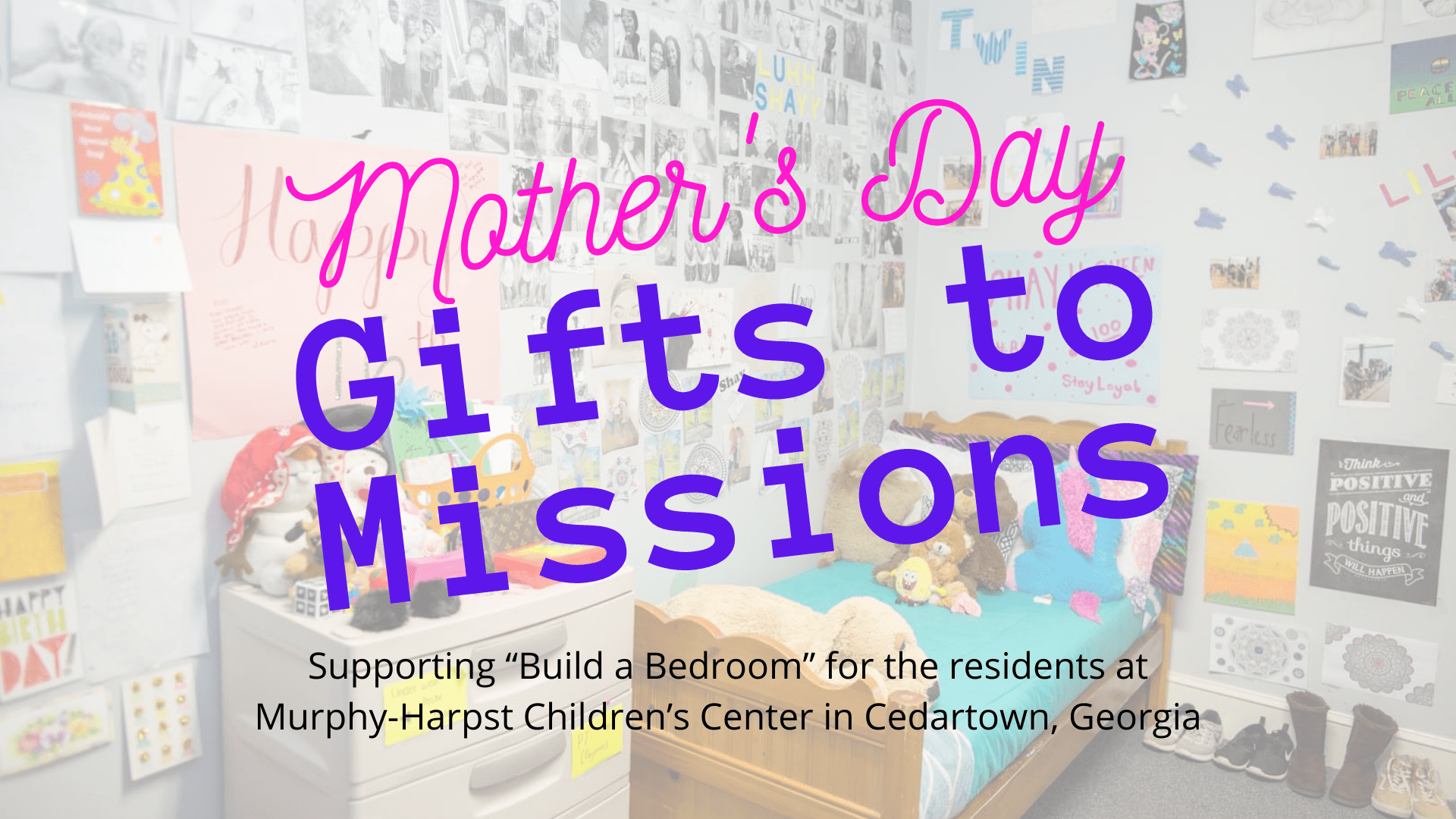 Mother's Day Gifts to Missions