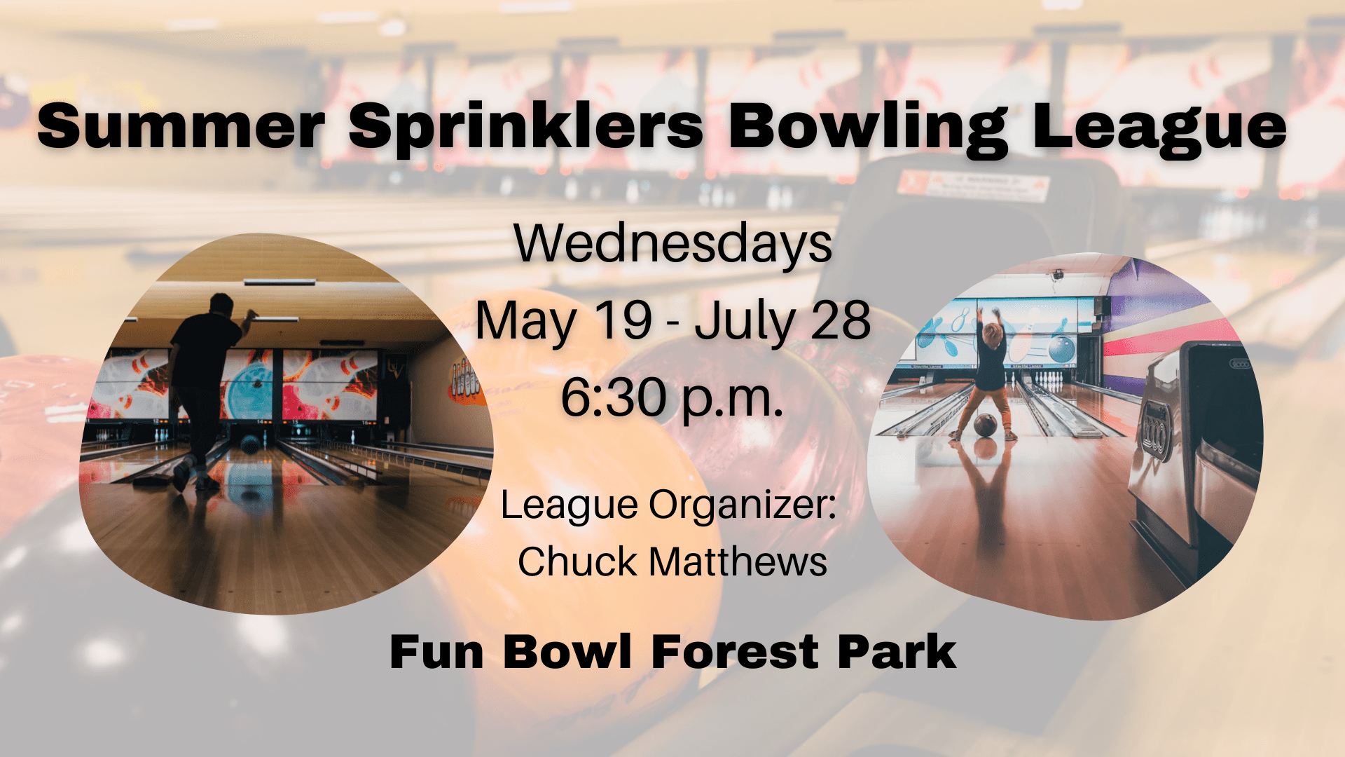 Summer Sprinklers Bowling League