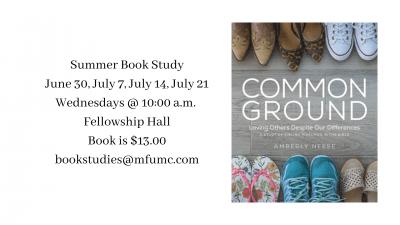 2021 Summer Book Study
