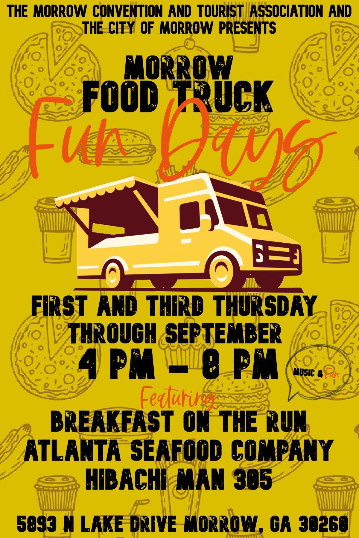 City of Morrow Food Truck Thursdays