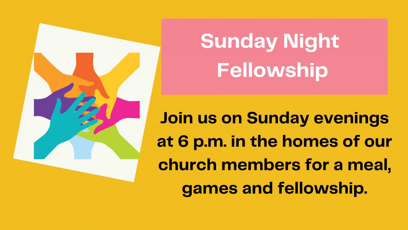 Sunday Youth Fellowship