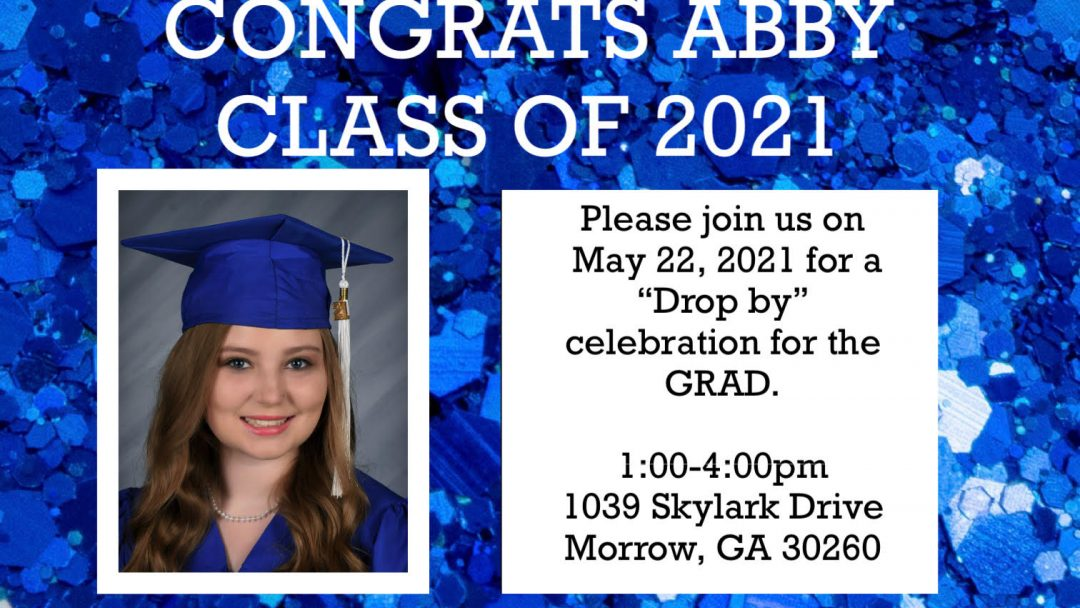 You are Invited to Drop By to Celebrate Abby Bales