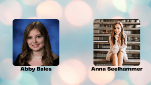 2021 Mary Alice Board Scholarship Winners Abby & Anna