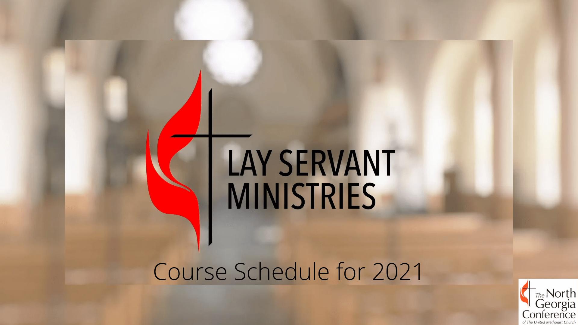 Lay Servant Classes