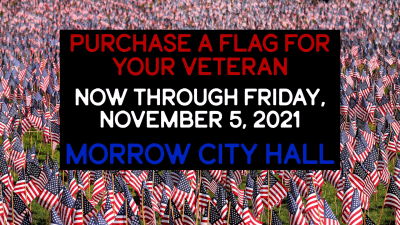 Purchase your flag now for Veteran's Day