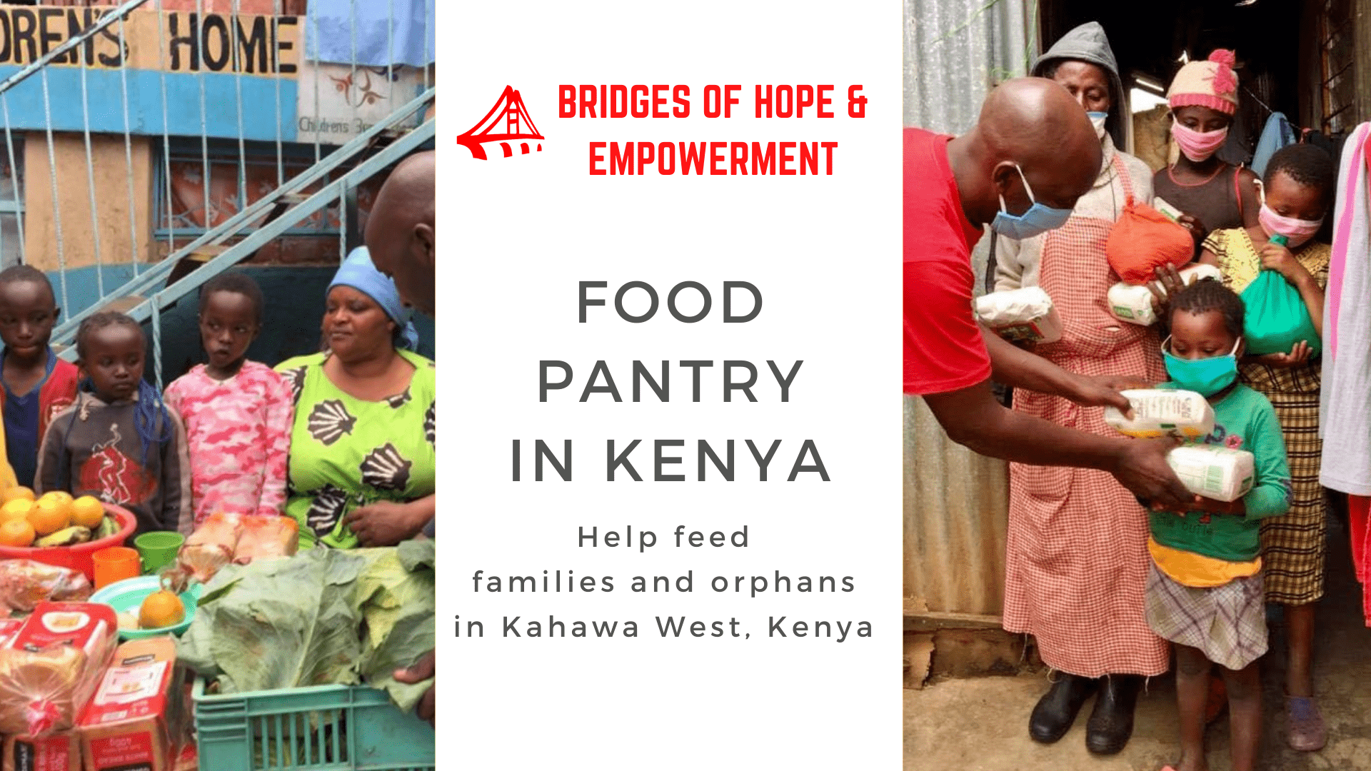 Help Support the BOHEI Food Pantry in Kenya